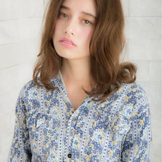 パーマ 外国人風カラー ゆるふわ 小顔 ヘアスタイルや髪型の写真・画像