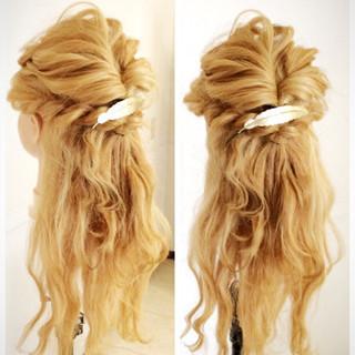 セミロング アッシュ 外国人風 ヘアアレンジ ヘアスタイルや髪型の写真・画像
