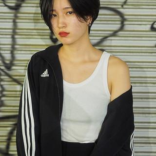 ショート かっこいい ボブ 藤井萩花 ヘアスタイルや髪型の写真・画像