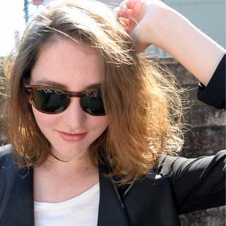 ボブ 外国人風 ストリート 簡単 ヘアスタイルや髪型の写真・画像