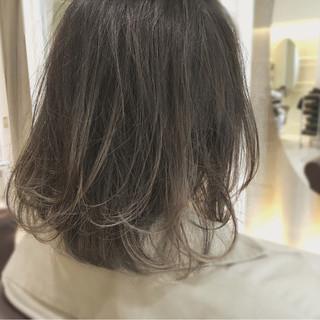 外国人風 ボブ イルミナカラー ナチュラル ヘアスタイルや髪型の写真・画像 ヘアスタイルや髪型の写真・画像