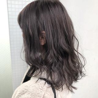 セミロング 外国人風カラー ナチュラル ヘアアレンジ ヘアスタイルや髪型の写真・画像 ヘアスタイルや髪型の写真・画像