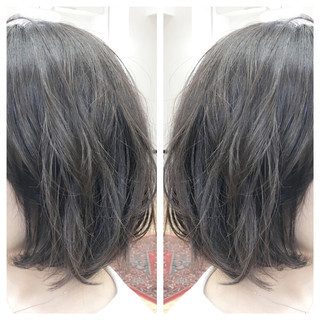 ナチュラル ボブ ブルージュ ベージュ ヘアスタイルや髪型の写真・画像