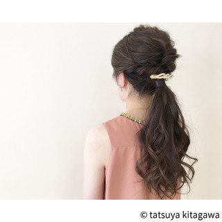 ロング デート ナチュラル ゆるふわ ヘアスタイルや髪型の写真・画像