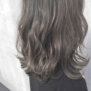 色気 ストリート ハイライト 外国人風 ヘアスタイルや髪型の写真・画像