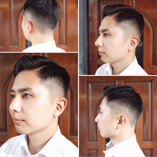 ツーブロック ストリート ショート 刈り上げ ヘアスタイルや髪型の写真・画像