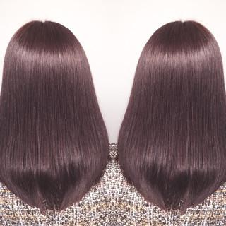 艶髪 ロング ナチュラル デート ヘアスタイルや髪型の写真・画像