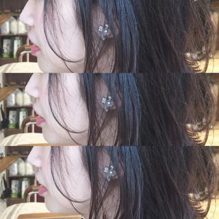 冬 前髪あり ヘアアレンジ ゆるふわ ヘアスタイルや髪型の写真・画像