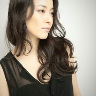 大人女子 コンサバ ロング 艶髪 ヘアスタイルや髪型の写真・画像
