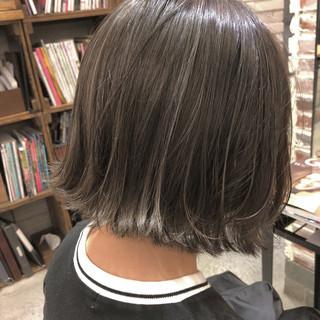 女子力 アウトドア ゆるふわ ボブ ヘアスタイルや髪型の写真・画像 ヘアスタイルや髪型の写真・画像