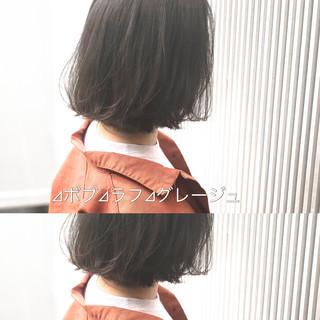 グレージュ アッシュグレージュ ナチュラル アッシュ ヘアスタイルや髪型の写真・画像