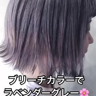 韓国 韓国ヘア ボブ アンニュイほつれヘア ヘアスタイルや髪型の写真・画像 ヘアスタイルや髪型の写真・画像