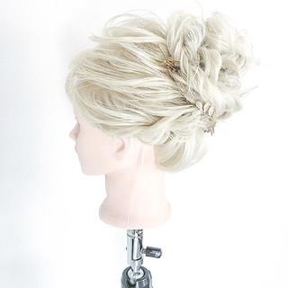 和装 セミロング 花火大会 お祭り ヘアスタイルや髪型の写真・画像