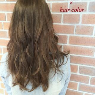 アッシュ 大人かわいい ハイライト コンサバ ヘアスタイルや髪型の写真・画像 ヘアスタイルや髪型の写真・画像