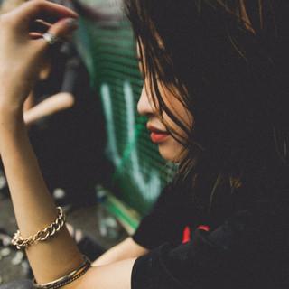 ハイライト ストリート ラフ 外国人風 ヘアスタイルや髪型の写真・画像