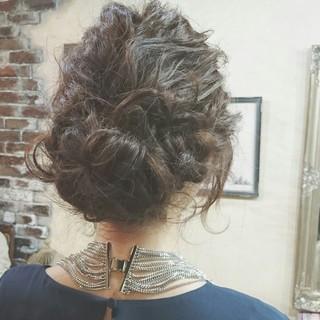 大人かわいい ゆるふわ ロング 波ウェーブ ヘアスタイルや髪型の写真・画像