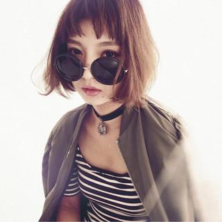 ガーリー フェミニン オン眉 簡単ヘアアレンジ ヘアスタイルや髪型の写真・画像