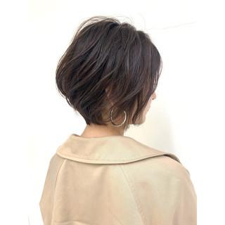 牧野美波さんのヘアスナップ