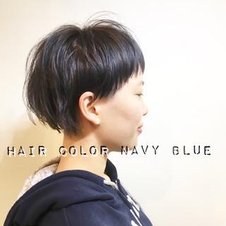 小顔 ナチュラル マッシュ ニュアンス ヘアスタイルや髪型の写真・画像