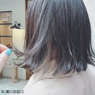 ナチュラル インナーカラー デート モテ髪 ヘアスタイルや髪型の写真・画像