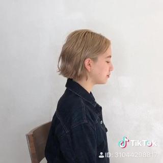 外国人風 ボブ ヘアアレンジ アンニュイほつれヘア ヘアスタイルや髪型の写真・画像