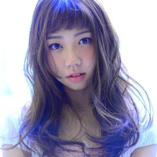 フェミニン ピンク ベリーピンク 前髪あり ヘアスタイルや髪型の写真・画像 ヘアスタイルや髪型の写真・画像