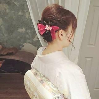 エレガント 冬 ゆるふわ ロング ヘアスタイルや髪型の写真・画像