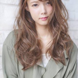 ロング 大人女子 大人かわいい フェミニン ヘアスタイルや髪型の写真・画像