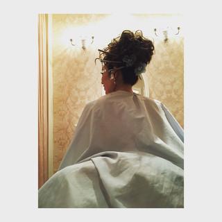 ヘアアレンジ ブライダル エクステ ボブ ヘアスタイルや髪型の写真・画像