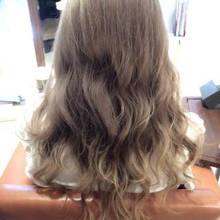 ストリート アッシュ 外国人風 グラデーションカラー ヘアスタイルや髪型の写真・画像