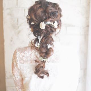 お花×ヘアアレンジでPhotoGenicなスタイルになろう!