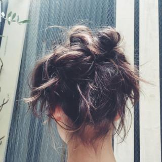 ゆるふわ ショート パーマ ミディアム ヘアスタイルや髪型の写真・画像 ヘアスタイルや髪型の写真・画像