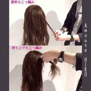 ヘアアレンジ ガーリー カチューシャ デート ヘアスタイルや髪型の写真・画像
