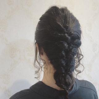 デート ロング 結婚式 ヘアアレンジ ヘアスタイルや髪型の写真・画像