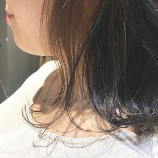 oggiotto 暗髪 大人ミディアム ミディアム ヘアスタイルや髪型の写真・画像