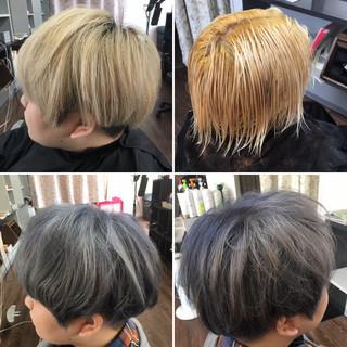 ブリーチ 外国人風カラー ストリート 外国人風 ヘアスタイルや髪型の写真・画像