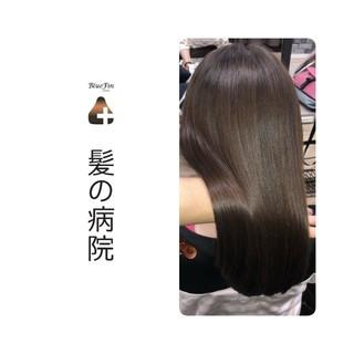 頭皮ケア 美髪 トリートメント ナチュラル ヘアスタイルや髪型の写真・画像