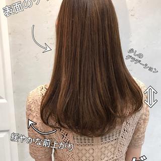 360度どこからみても綺麗なロングヘア ナチュラル ロングヘア ロングヘアスタイル ヘアスタイルや髪型の写真・画像