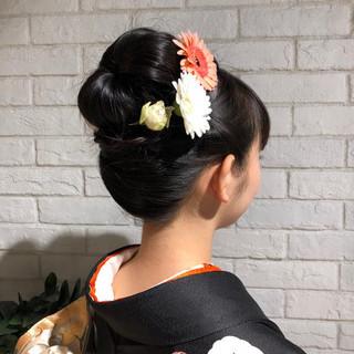 成人式ヘアメイク着付け ヘアアレンジ 成人式 成人式カラー ヘアスタイルや髪型の写真・画像