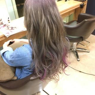 フェミニン モテ髪 ロング 外国人風カラー ヘアスタイルや髪型の写真・画像