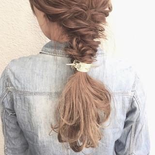 大人女子 小顔 ハーフアップ ロング ヘアスタイルや髪型の写真・画像