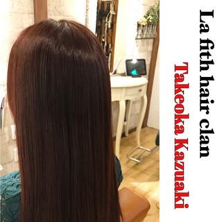 艶髪 ロング イルミナカラー ナチュラル ヘアスタイルや髪型の写真・画像
