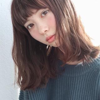 ストレート ピュア ロブ 無造作 ヘアスタイルや髪型の写真・画像 ヘアスタイルや髪型の写真・画像