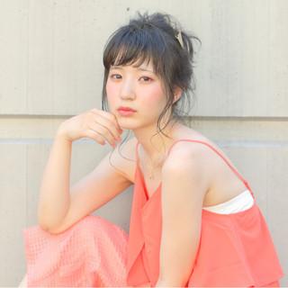 ピュア ショート ロング ヘアアレンジ ヘアスタイルや髪型の写真・画像