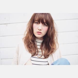 春 ロング ストリート パンク ヘアスタイルや髪型の写真・画像