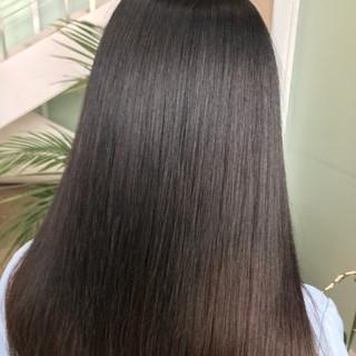 ロング 最新トリートメント ナチュラル 髪質改善 ヘアスタイルや髪型の写真・画像 ヘアスタイルや髪型の写真・画像