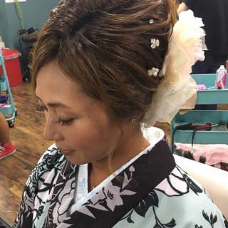 エレガント 結婚式 ヘアアレンジ 上品 ヘアスタイルや髪型の写真・画像 ヘアスタイルや髪型の写真・画像