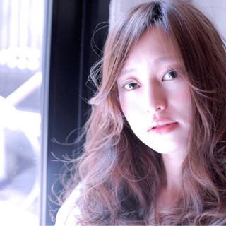 艶髪 大人かわいい セミロング ウェットヘア ヘアスタイルや髪型の写真・画像