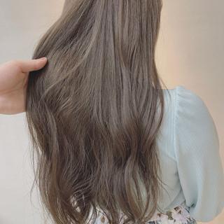 透明感カラー ロング ハニーベージュ 外国人風カラー ヘアスタイルや髪型の写真・画像 ヘアスタイルや髪型の写真・画像