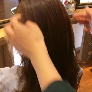 ヘアアレンジ ミディアム ハーフアップ 大人女子 ヘアスタイルや髪型の写真・画像